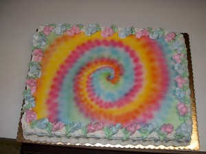 Tie Dyed Airbrushing Instructions