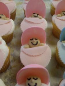 Bassinet Cupcakes