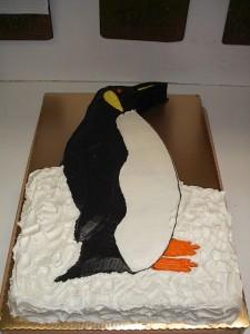 Emperior Penguin Cake