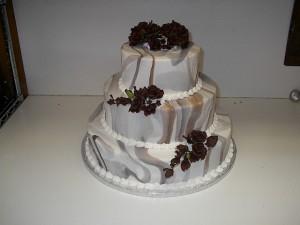 Marbilized Fondant Cake