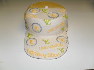 Louis Vouitton Hat Cake