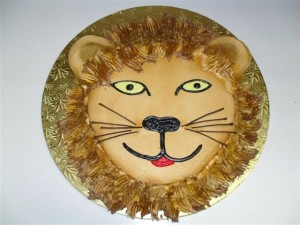 lion's head cake