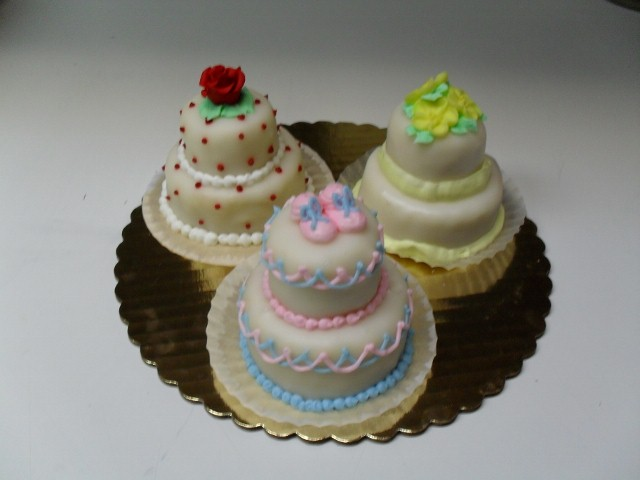 Personal Sized Tiered Cakes